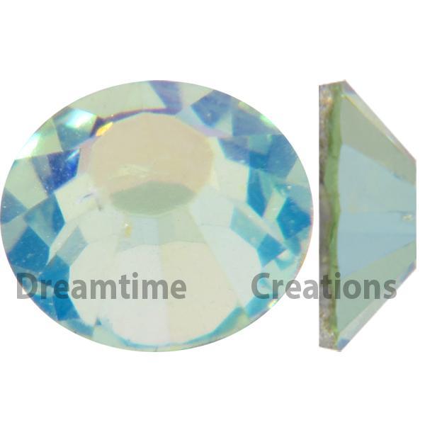 Preciosa VIVA12 Rhinestones Flatback MC Chaton Rose 10ss Chrysolite AB