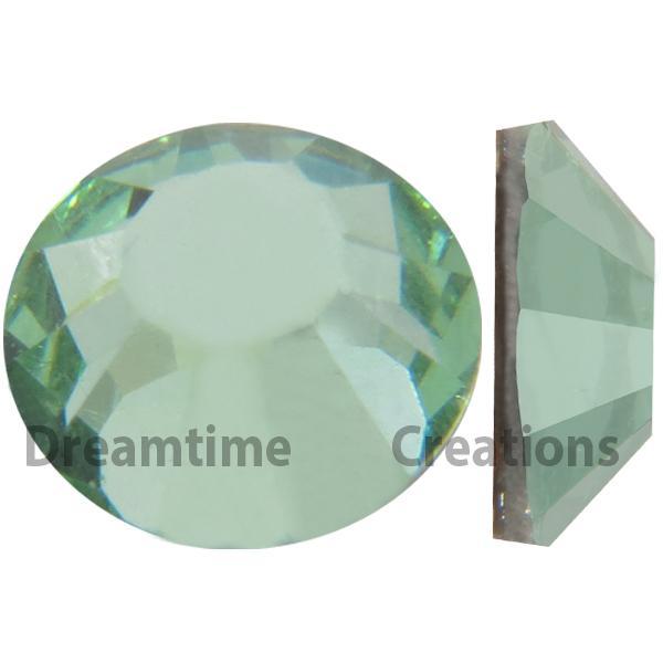 Preciosa VIVA12 Rhinestones Flatback MC Chaton Rose 9ss Chrysolite