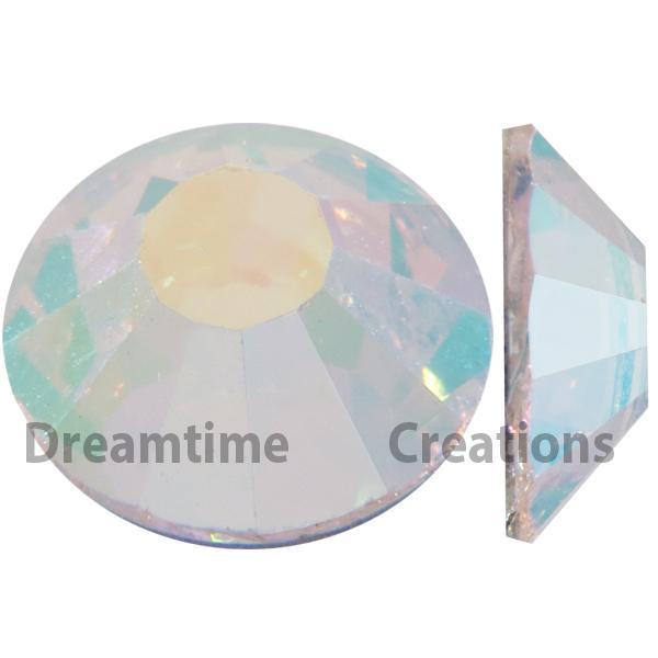 Preciosa VIVA12 Rhinestones Flatback MC Chaton Rose 9ss Crystal AB