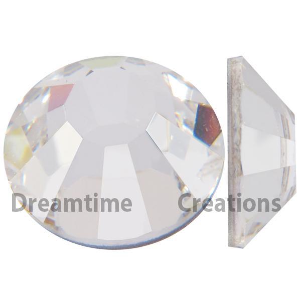 Preciosa VIVA12 Rhinestones Flatback MC Chaton Rose 10ss Crystal