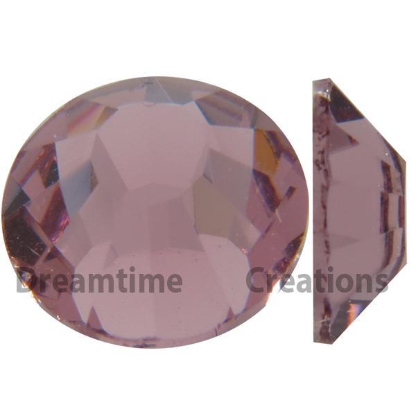Preciosa VIVA12 Rhinestones Flatback MC Chaton Rose 9ss Light Amethyst