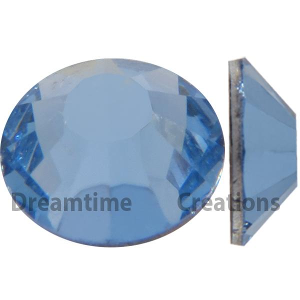 Preciosa VIVA12 Rhinestones Flatback 12ss Light Sapphire