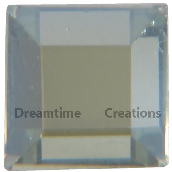Preciosa Square Flatback Rhinestones 6mm x 6mm