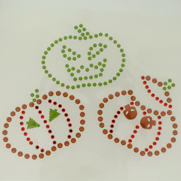 Iron On Transfer Pumpkins Trio