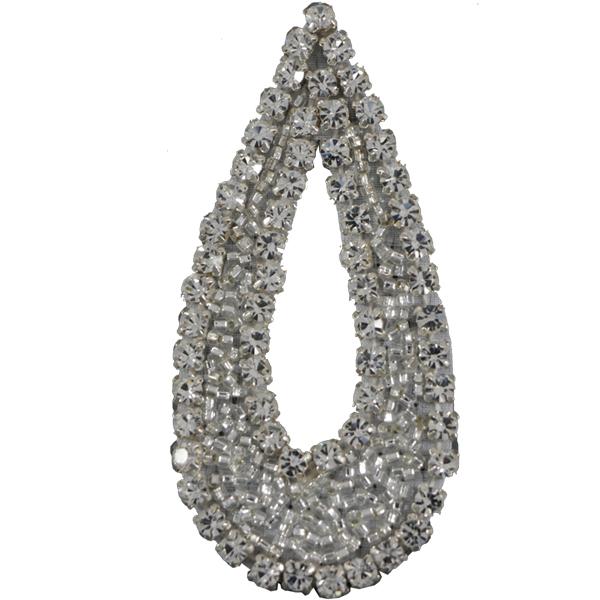 Crystal Rhinestone Applique