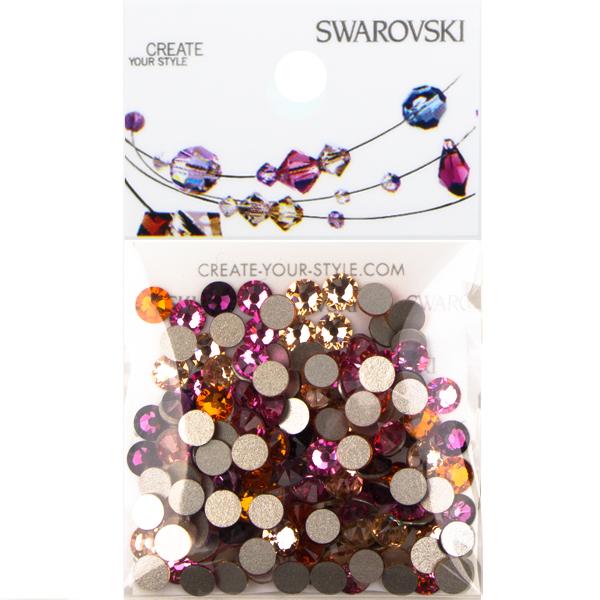 Swarovski Floral Blooms 2088 SS16 Flat Back Mix - 144 pcs