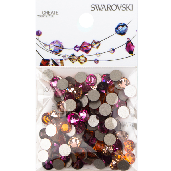 Swarovski Floral Blooms 2088 SS20 Flat Back Mix - 144 pcs