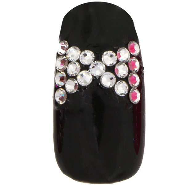 Bling For Nails Black Tie Affair Nail Design Kit For 2 Nails Dreamtime Creations