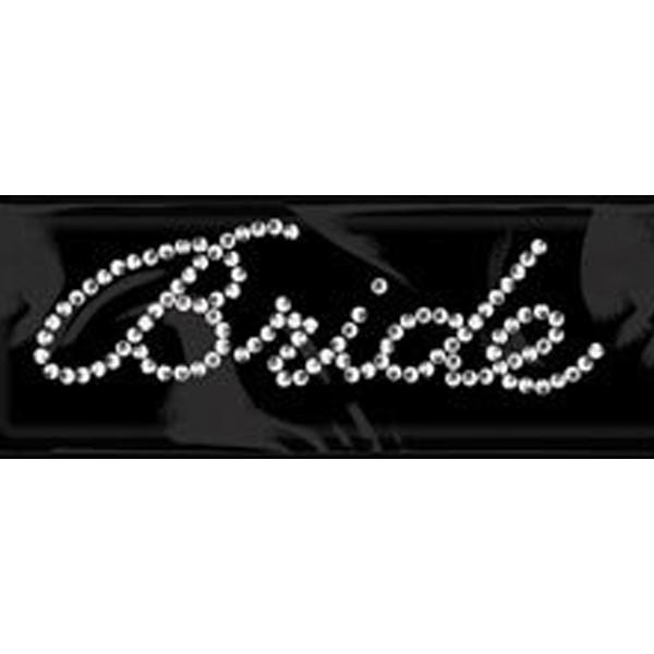 60b7a26530 Rhinestone Sticker Word - Bride