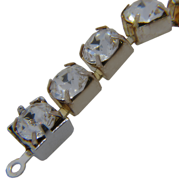 Swarovski Rhinestone Chain End Piece 29SS Rhodium