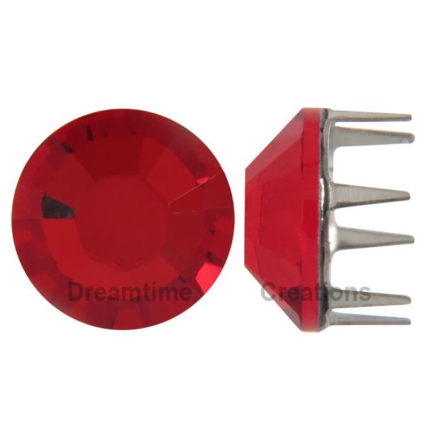 Swarovski Rose Pins 53301 ss10 Light Siam