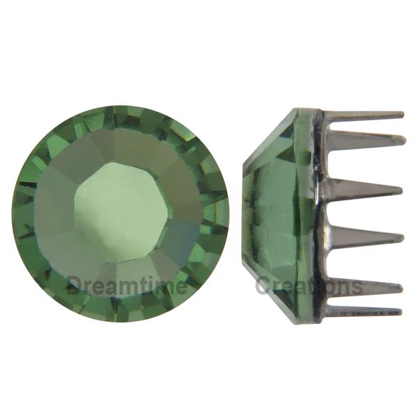Swarovski Rose Pins 53302 ss16 Peridot