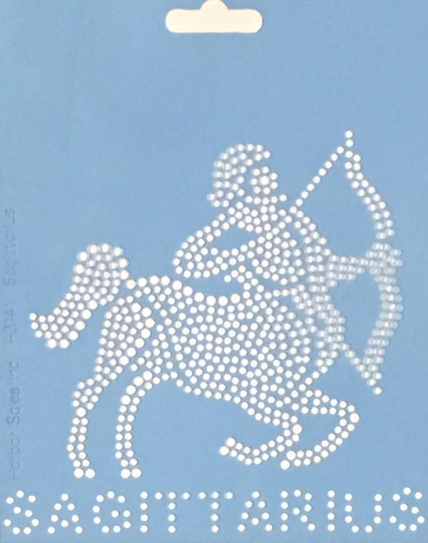 Crystal Style Sagittarius Stencil