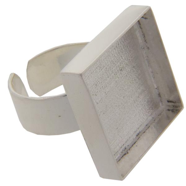 DW Square Ring 21mm for Embellishing