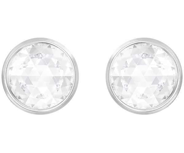Swarovski Collection Rhodium Plated Reversible Earrings