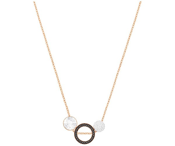 Swarovski Collection 3 Stone Rose Gold Plated Pendant