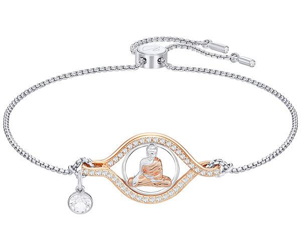 Swarovski Collection Rose Gold Buddha Bracelet   Dreamtime Creations e66bf8820211