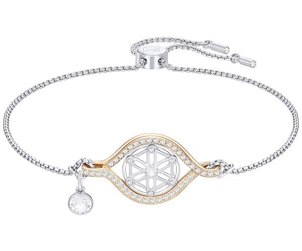 Swarovski Collection Rose Gold Flower of Life Bracelet