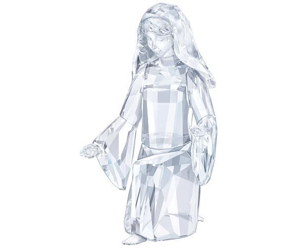 Swarovski Collection Crystal Christmas Mary Figurine