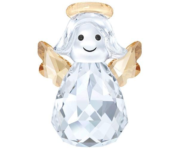 Swarovski Collection Crystal Joyful Christmas Rocking Angel