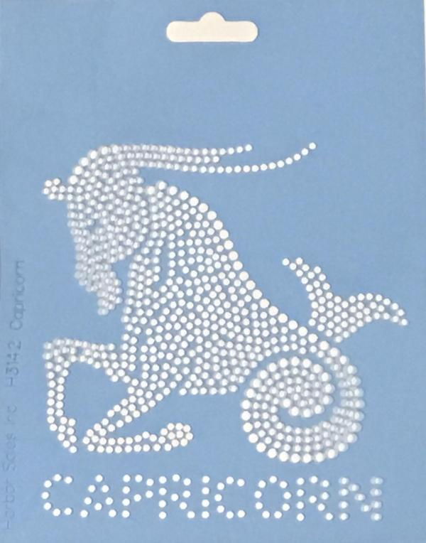 Crystal Style Capricorn Stencil