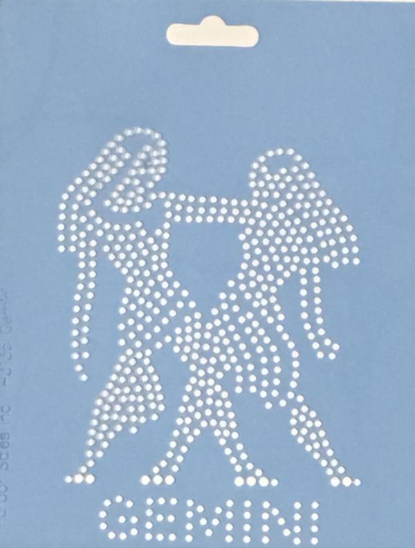 Crystal Style Gemini Stencil