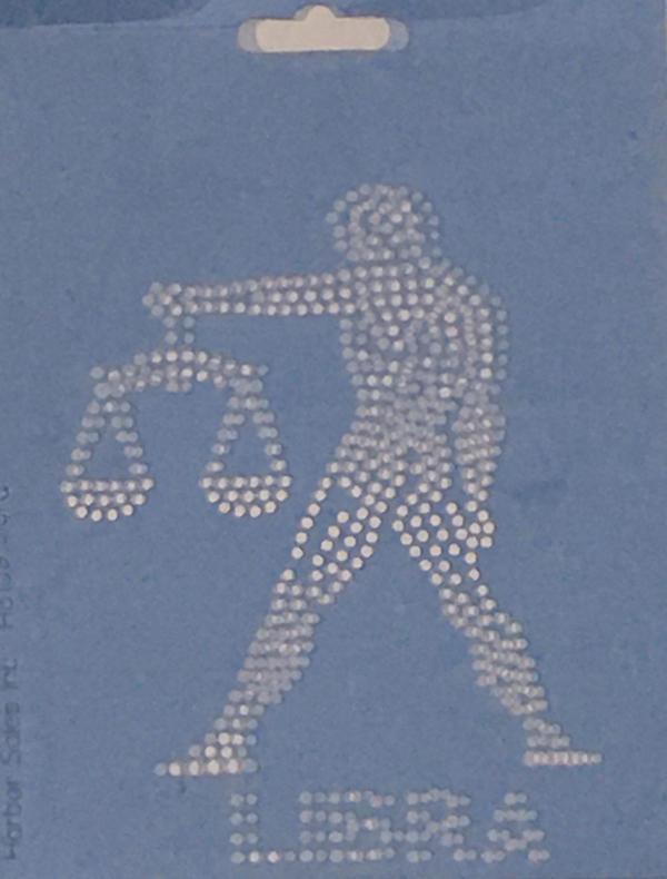 Crystal Style Libra Stencil