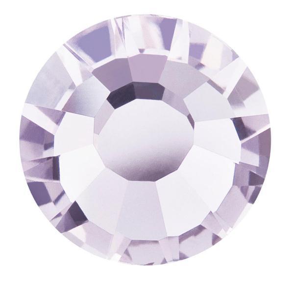 Preciosa VIVA12 Rhinestones Flatback MC Chaton Rose 16ss Pale Lilac
