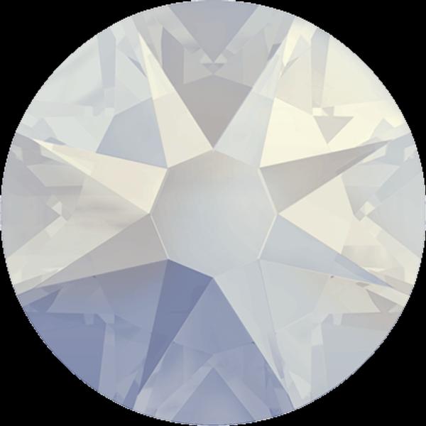 Swarovski 2058 XILION Rose Flat Back White Opal Shimmer SS9