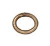 TIERRACAST® Brass Oxide Jumpring Medium Oval 20g