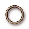 TIERRACAST® Brass Oxide Jumpring 8 mm Round 18g