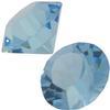 Swarovski 1012 Vintage Round Chaton Aquamarine (Unfoiled) PP32