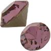 Swarovski 1028 XILION Chaton Crystal Antique Pink PP31