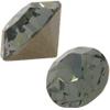 Swarovski 1028 XILION Chaton Black Diamond PP9