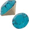 Swarovski 1028 XILION Chaton Blue Zircon PP9