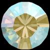 Swarovski 1028 XILION Chaton Black Diamond Shimmer PP7