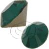 Swarovski 1100 Vintage Round Chaton Emerald PP12