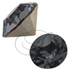 Swarovski 1028 Pointed Back Round Rhinestones ss29 Silver Night