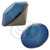 Swarovski 1028 XILION Chaton White Opal Sky Blue PP31