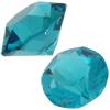 Swarovski 1088 XIRIUS Chaton Blue Zircon (Unfoiled) SS39