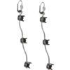 Empty Jewelry Wavy Earrings Lever Back for Swarovski 1088 SS39. Pair.