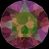 Swarovski 1088 XIRIUS Chaton Amethyst Luminous Green SS39