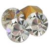 Swarovski 1100 Round Rhinestones PP24 Crystal - Gold Foil