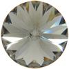 Swarovski 1122 Rivoli Round Stone Black Diamond 12mm