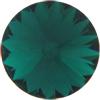 Swarovski 1122 Rivoli Round Stone Emerald 12mm
