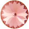 Swarovski 1122 Rivoli Round Stone Rose Peach 12mm