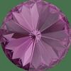 Dreamtime Crystal DC 1122 Rivoli Round Stone Amethyst 12mm