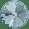 Dreamtime Crystal DC 1122 Rivoli Round Stone Aquamarine 12mm