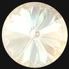 Swarovski 1122 Rivoli Round Stone Crystal Ivory Cream DeLite 14mm