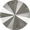Swarovski 1122 Rivoli Round Stone Crystal Dark Grey 14mm